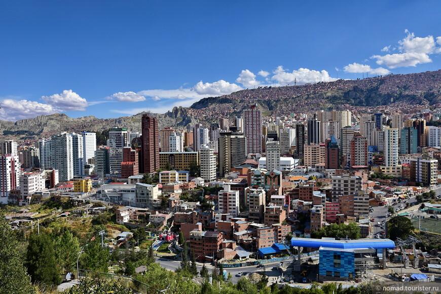 Виды на Ла-Пас из Городского парка