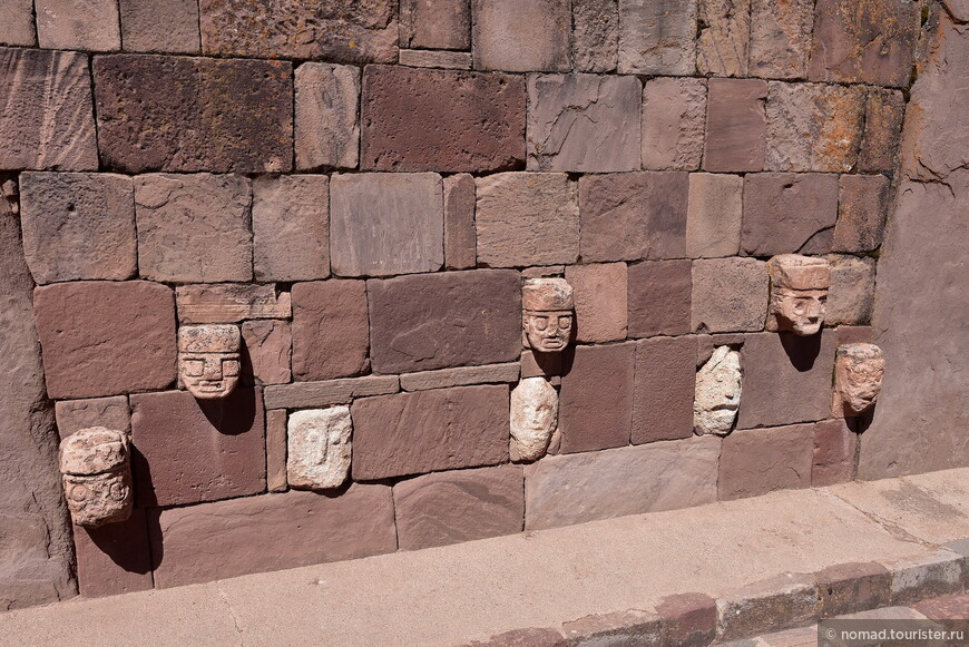 Тиуанако. Полуподземный храм