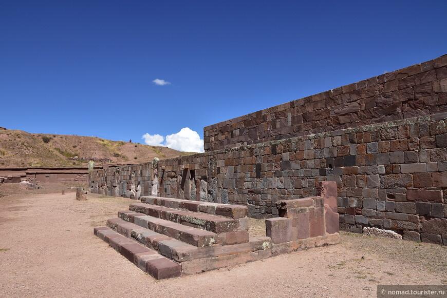Тиуанако. Храм Каласасайя