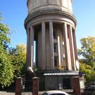 Водонапорная башня в Новосибирске