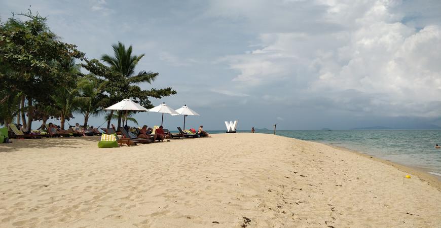 Пляж W-Retreat