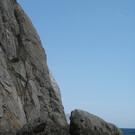 Дикий пляж под Крепостной горой