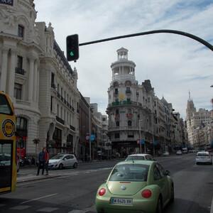 Улицы и дома Мадрида