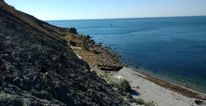 Агатовый пляж, Орджоникидзе