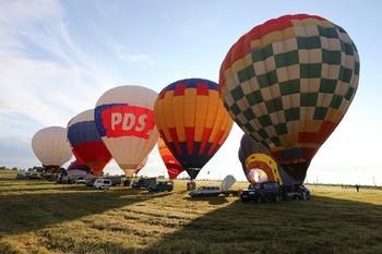 Фестиваль воздушных шаров Золотое кольцо России пройдёт в трёх городах
