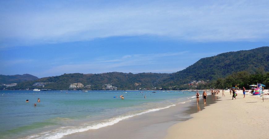 Пляж Патонг на Пхукете (Patong Beach)