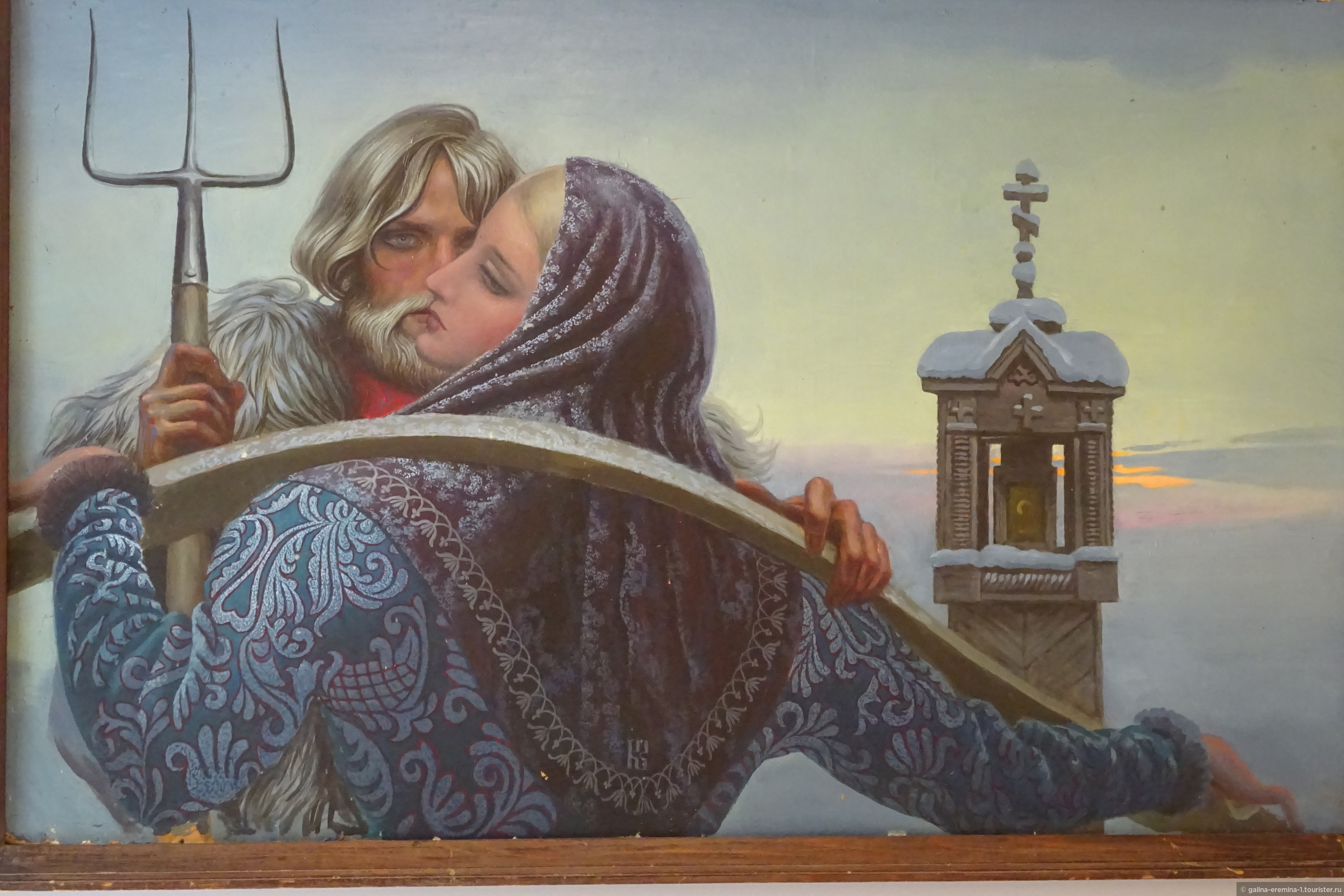 можно сосредоточиться картинки о славянах васильев художник ручей