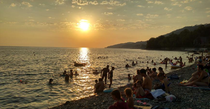 Пляж «Ласточка» в Сочи