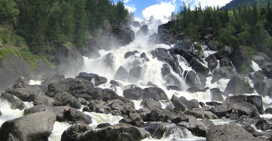 Водопад Учар (Большой Чульчинский водопад)
