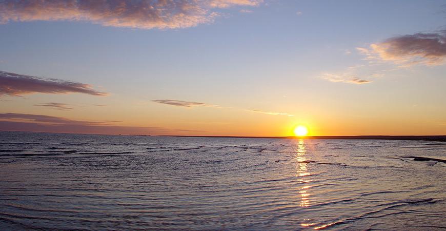 Озеро Шалкар (Челкар) в Западном Казахстане