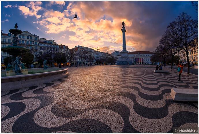Лиссабон. Россиу.