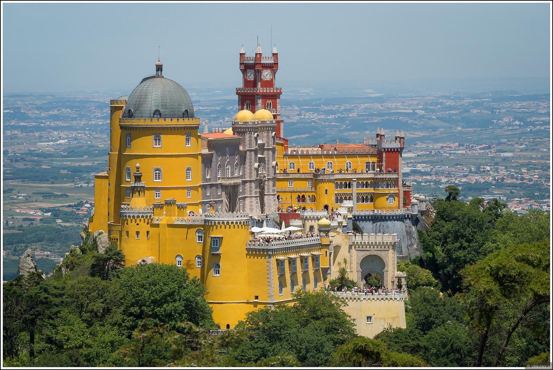 Дворец Пена, Синтра. За наводку на точку спасибо @iffoneoff!)), Я и лаг у троп. Португалия! (палиндром)