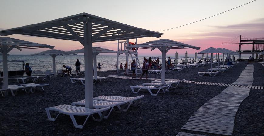 Пляж «Лазаревское взморье»