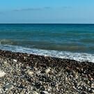 Дикий пляж Лазаревского за санаторием «Одиссея»