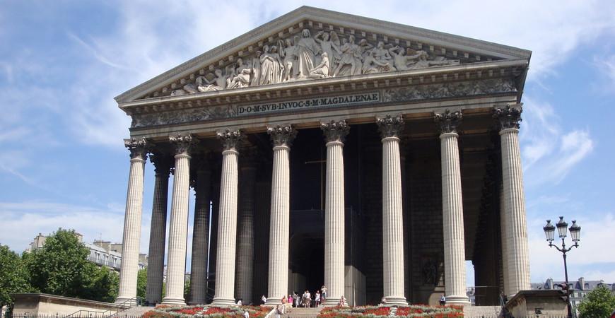 Церковь Мадлен в Париже