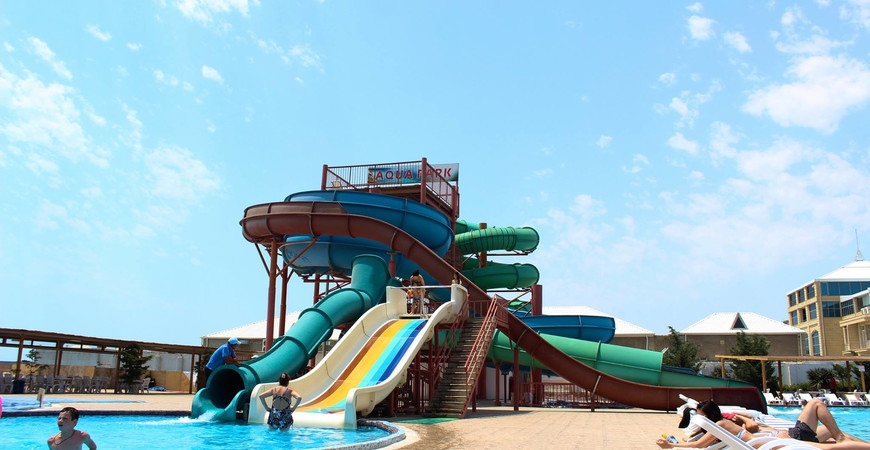 Пляж и аквапарк в Шихово
