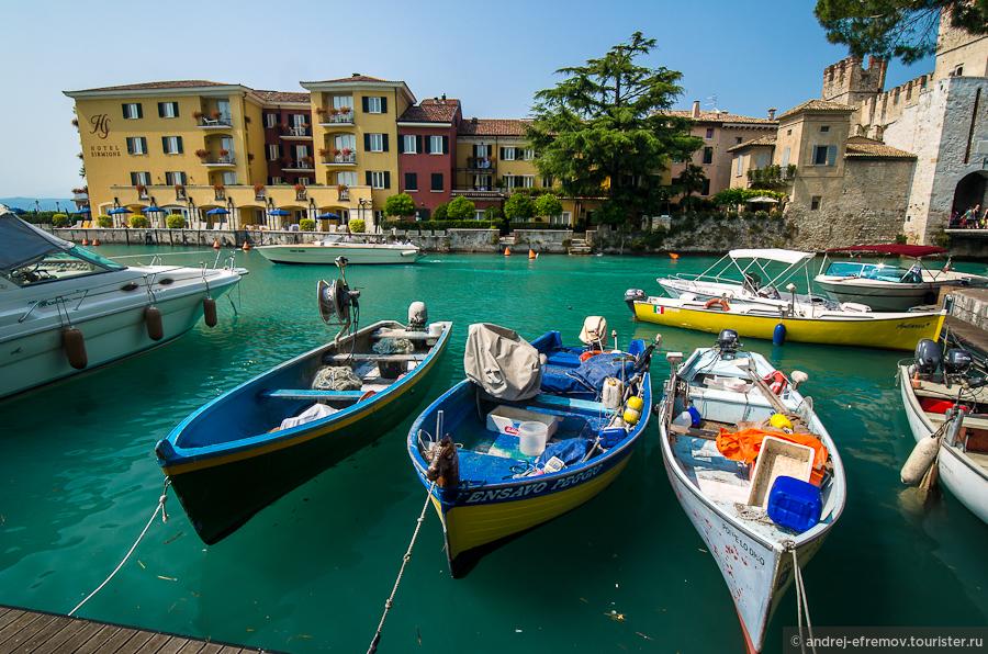 Отличная неделя в прекрасной Италии. Озеро Гарда. Сирмионе