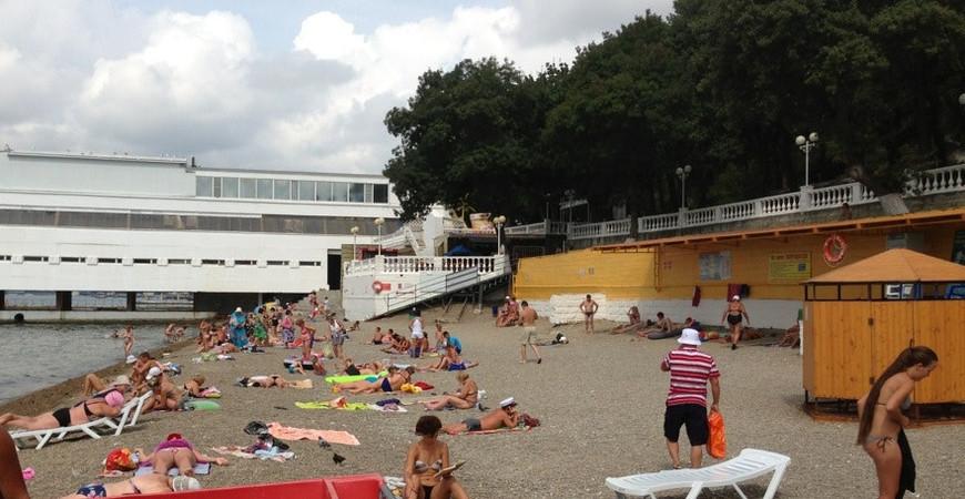 Пляж «Дружба» в Геленджике