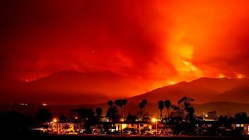 В Калифорнии проходит эвакуация из-за лесных пожаров