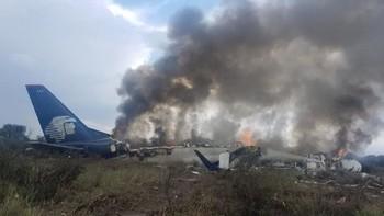 В Мексике разбился пассажирский самолёт