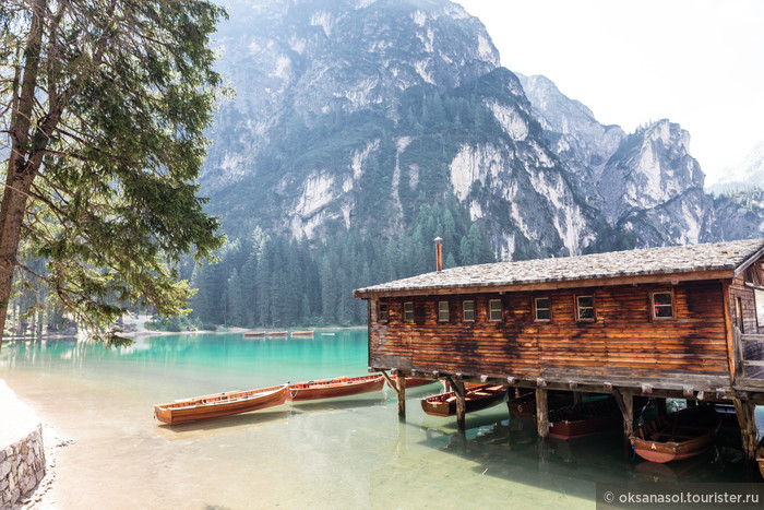 5 удивительных озер Италии и горы Tre Cime di Lavaredo
