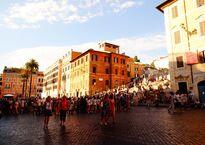 Площадь Испании в Риме (Piazza di Spagna)