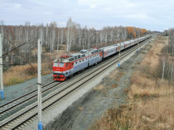 Поезд Уфа — Екатеринбург