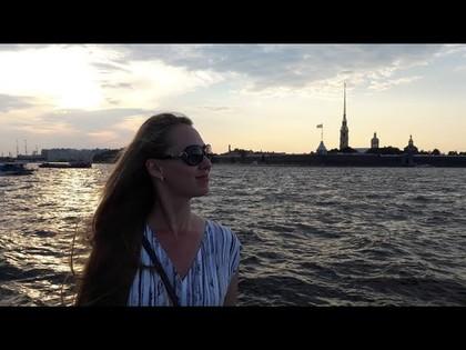 Летний Санкт-Петербург. Белые ночи в июле. Когда лучше всего ехать в Питер?, 19:18
