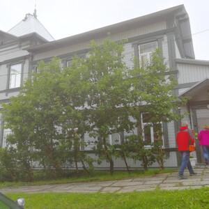 В краеведческом музее Камчатки