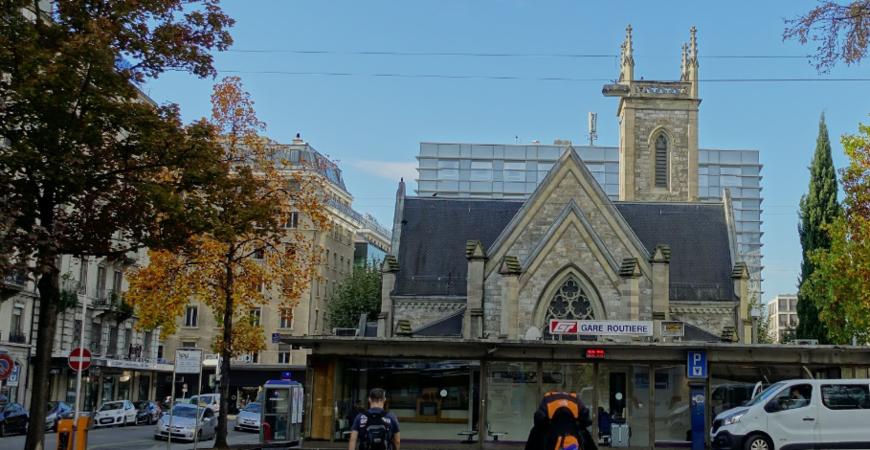 Автовокзал Женевы (Gare Routiere de Geneve)