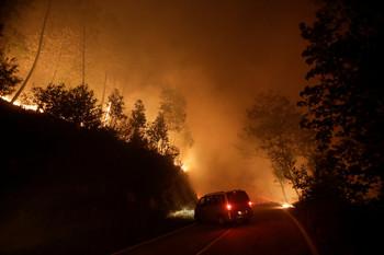 В Португалии бушуют природные пожары