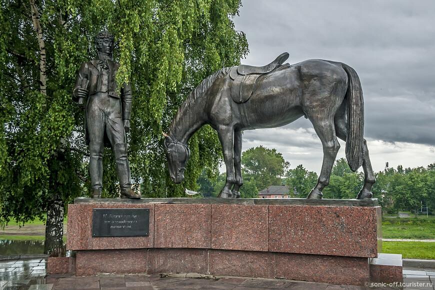 Памятник поэту К. Н. Батюшкову