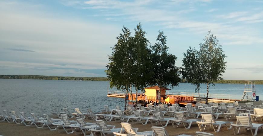 Пляж «Огонь» в Екатеринбурге