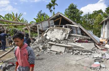 Очередное сильное землетрясение произошло в Индонезии