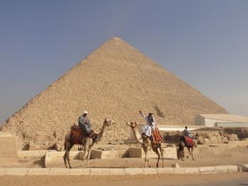 Египет посетили 120 000 российских туристов