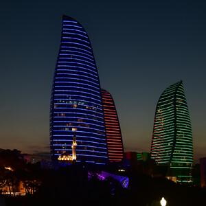 Широкоугольный Баку. Leisure and pleasure