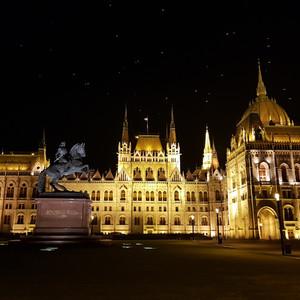 Магия вечернего Будапешта