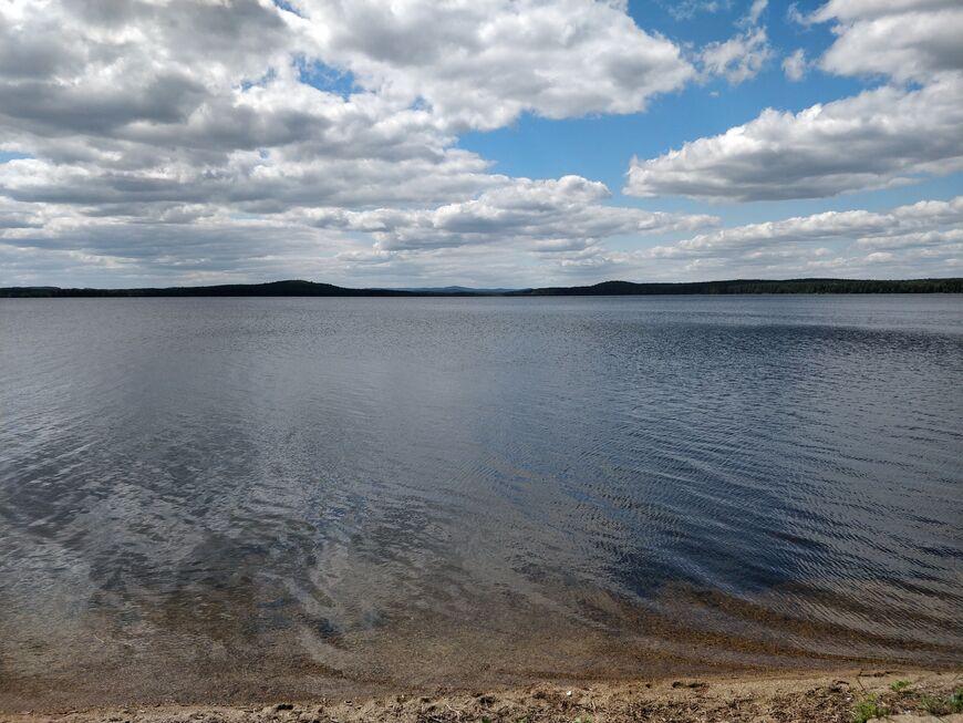 Рыбалка на озере Алабуга