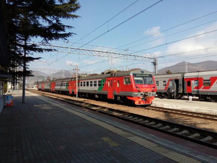 Поезд Челябинск — Адлер (Сочи)