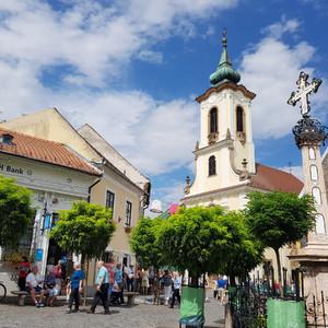 Кусочек Сербии под Будапештом — Сентендре
