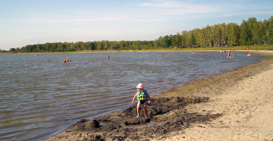 Озеро Горькое в Челябинской области (Хомутинино)