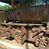 Японский локомотив на острове Дон Кхон
