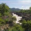 Водопад Ли Пхи на острове Дон Кхон