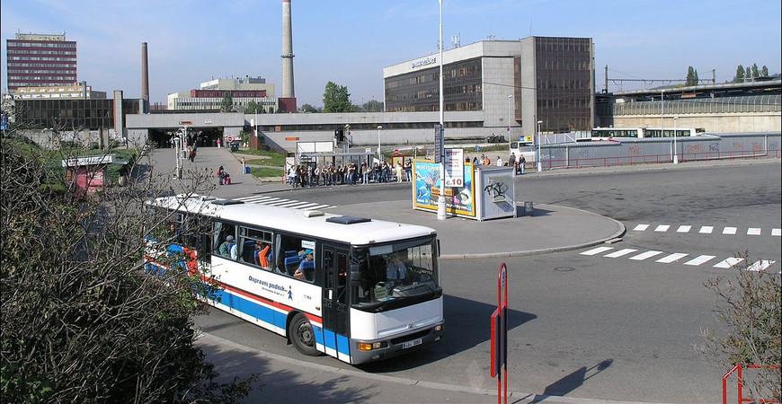 Автовокзал Голешовице (Autobusov nadrazi Holesovice)