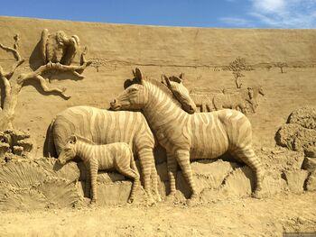 Фестиваль песчаной скульптуры