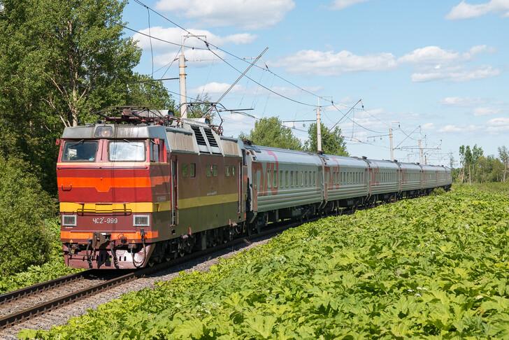 Поезд № 515