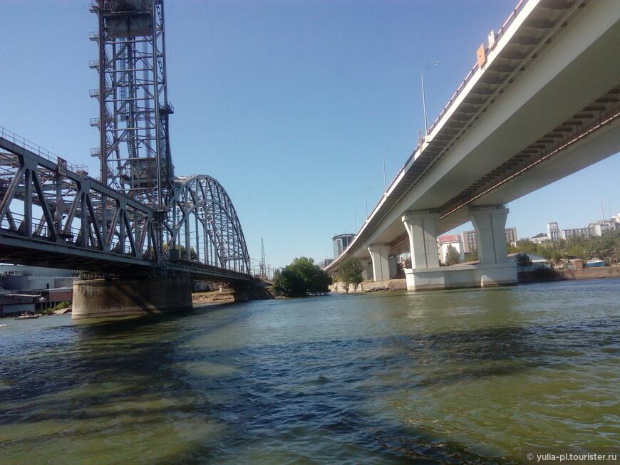 Два моста. Место где к Дону присоединяется  Темерник именно здесь