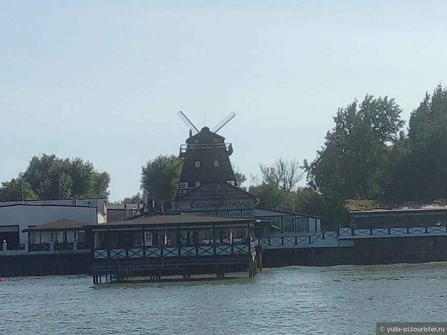 """А на Левом берегу """"Старая мельница"""" - это один из самых известных ресторанов."""