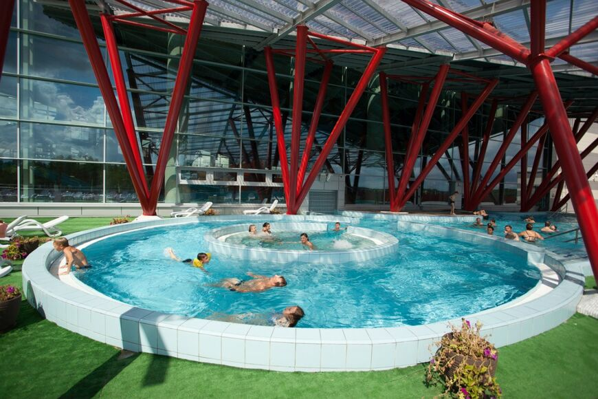 Аквапарк «Лебяжий» в Минске