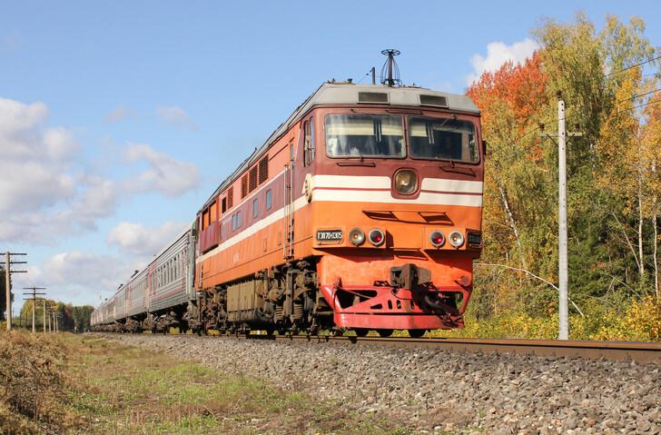Поезд Санкт-Петербург — Самара